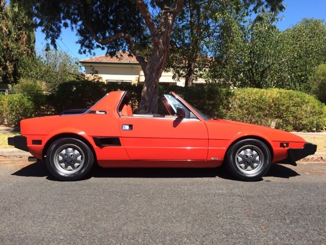 FOR SALE – FIAT X1/9 1500 4 speed (1980) – SOLD