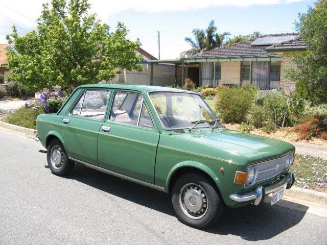 FOR SALE – FIAT 128 Sedan (1970) – SOLD